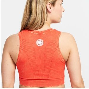 New SoulCycle x Nux Red One by One Crop Bra